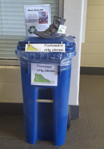 Soles4Souls shoe bin at MP